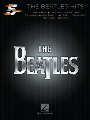 cover image of The Beatles Hits Songbook