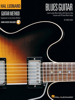 cover image of Hal Leonard Guitar Method--Blues Guitar