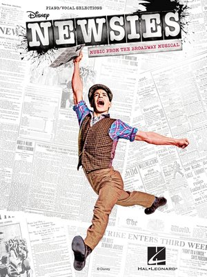cover image of Newsies Songbook