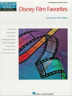 cover image of Disney Film Favorites (Songbook)