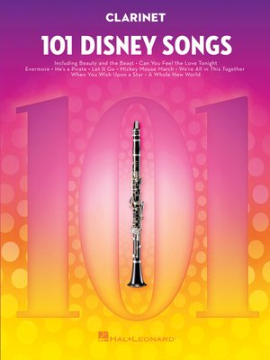 cover image of 101 Disney Songs