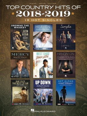 cover image of Top Country Hits of 2018-2019
