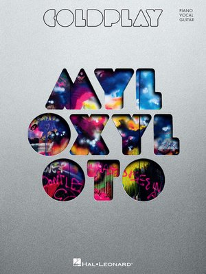 cover image of Coldplay--Mylo Xyloto Songbook