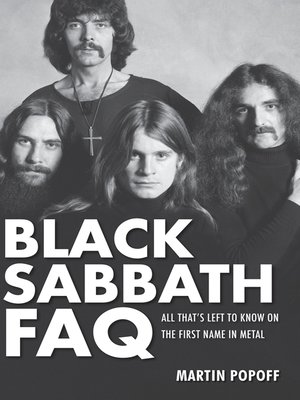 cover image of Black Sabbath FAQ