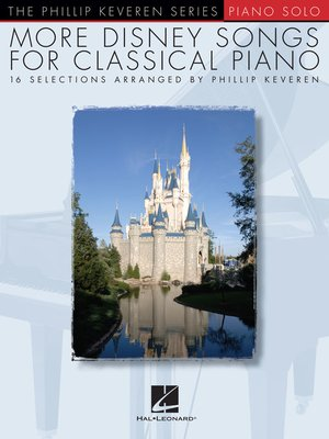 cover image of More Disney Songs for Classical Piano