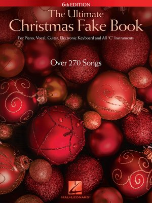 cover image of The Ultimate Christmas Fake Book