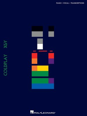 cover image of Coldplay--X & Y (Songbook)