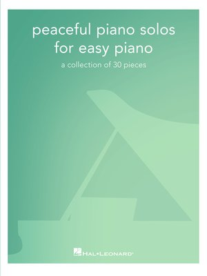 cover image of Peaceful Piano Solos for Easy Piano