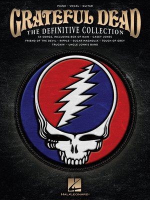 cover image of Grateful Dead--The Definitive Collection Songbook