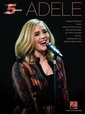 cover image of Adele--Five-Finger Piano
