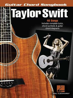cover image of Taylor Swift--Guitar Chord Songbook