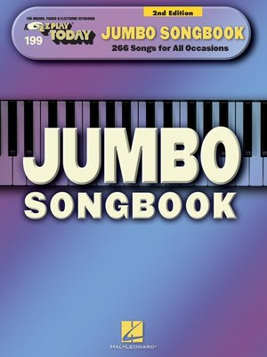 cover image of Jumbo Songbook