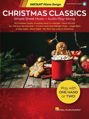 cover image of Christmas Classics--Instant Piano Songs