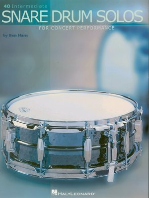 cover image of 40 Intermediate Snare Drum Solos (Music Instruction)