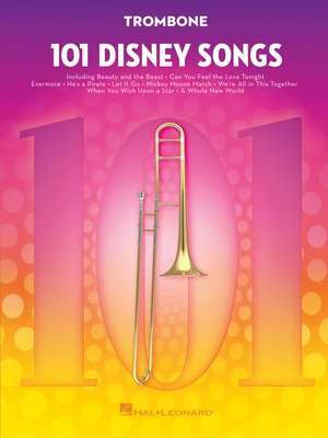 cover image of 101 Disney Songs for Trombone
