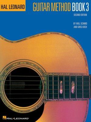 cover image of Hal Leonard Guitar Method Book 3