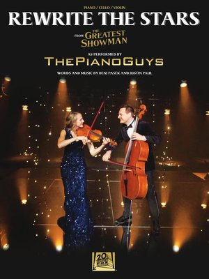 cover image of Rewrite the Stars Sheet Music