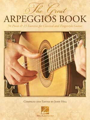 cover image of The Great Arpeggios Book