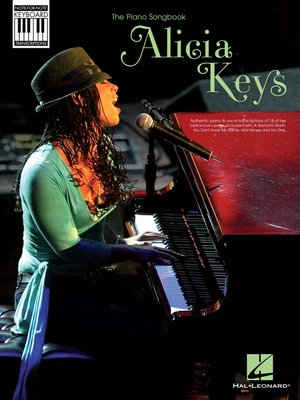 cover image of Alicia Keys--Note-for-Note Keyboard Transcriptions (Songbook)