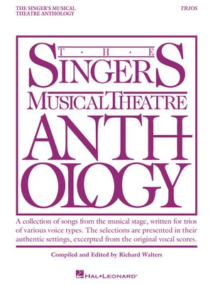 cover image of Singer's Musical Theatre Anthology Trios
