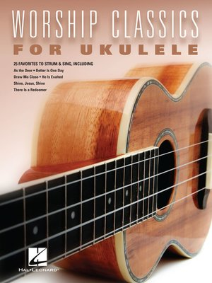 cover image of Worship Classics for Ukulele