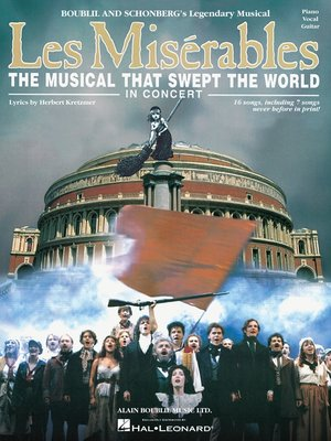 cover image of Les Miserables in Concert (Songbook)