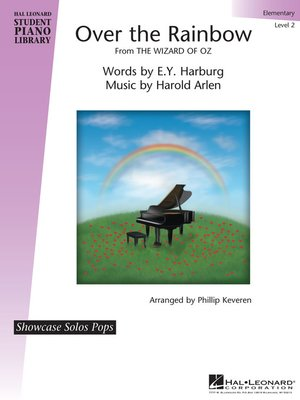 cover image of Over the Rainbow (from the Wizard of Oz) Sheet Music