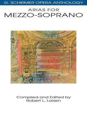 cover image of Arias for Mezzo-Soprano