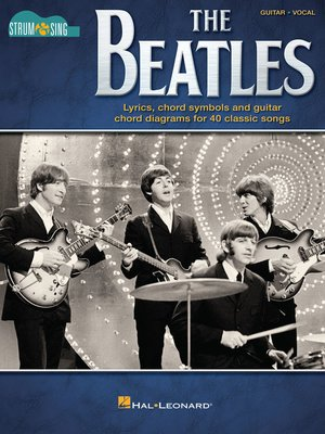 cover image of The Beatles--Strum & Sing Guitar