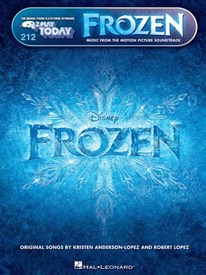 cover image of Frozen--E-Z Play Today Songbook