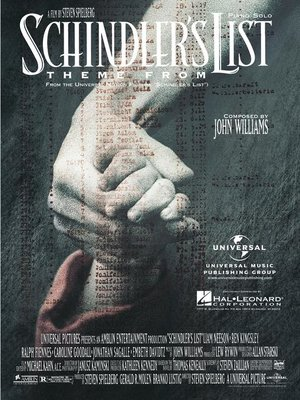 cover image of Theme from Schindler's List Sheet Music