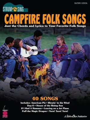 cover image of Campfire Folk Songs (Songbook)