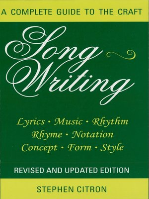 cover image of Songwriting