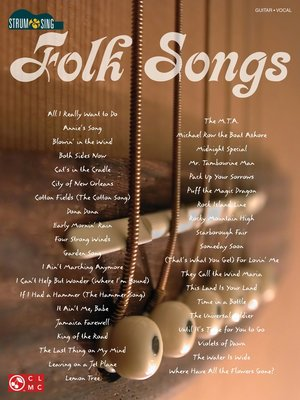 cover image of Folk Songs (Songbook)