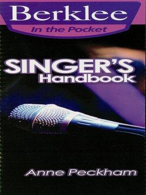 cover image of Singer's Handbook (Music Instruction)