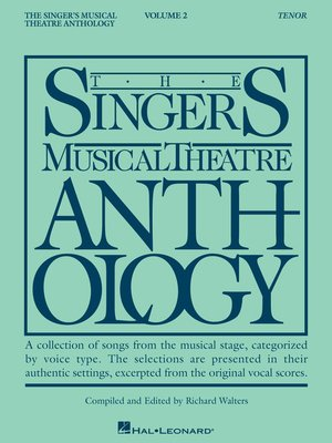 cover image of The Singer's Musical Theatre Anthology--Volume 2