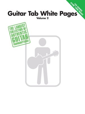 cover image of Guitar Tab White Pages, Volume 2 (Songbook)