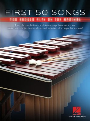 cover image of First 50 Songs You Should Play on Marimba