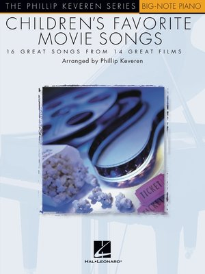 cover image of Children's Favorite Movie Songs (Songbook)