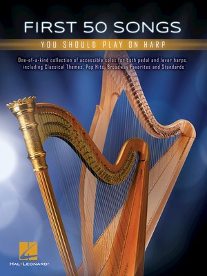 cover image of First 50 Songs You Should Play on Harp