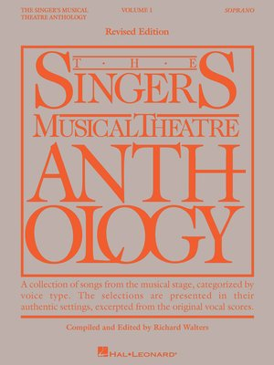 cover image of The Singer's Musical Theatre Anthology Volume 1
