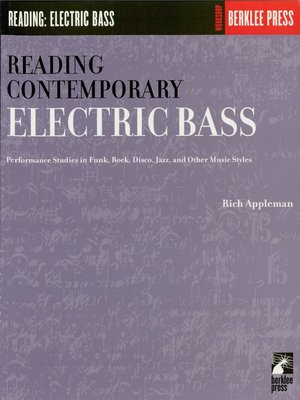 cover image of Reading Contemporary Electric Bass