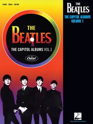 cover image of The Beatles--The Capitol Albums, Volume 1 (Songbook)