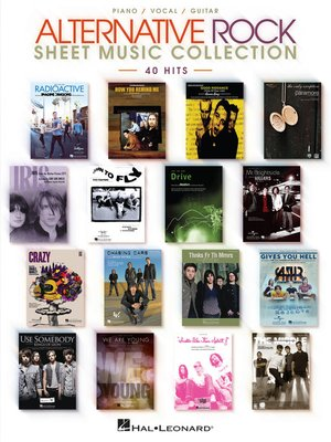 cover image of Alternative Rock Sheet Music Collection