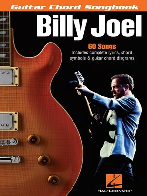 cover image of Billy Joel--Guitar Chord Songbook