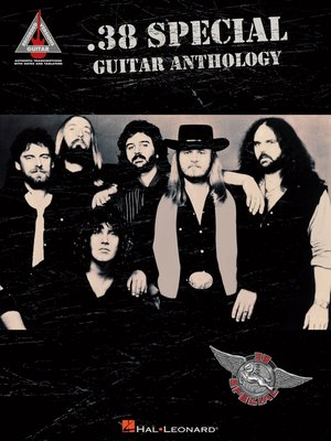 cover image of .38 Special Guitar Anthology (Songbook)