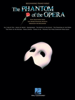 cover image of The Phantom of the Opera (Songbook)