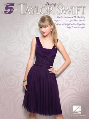 cover image of Best of Taylor Swift Songbook