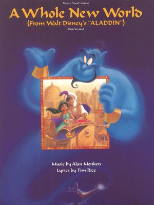 cover image of A Whole New World Sheet Music