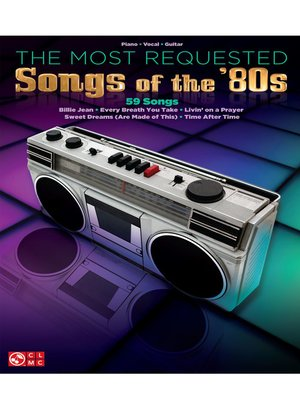 cover image of The Most Requested Songs of the '80s (Songbook)